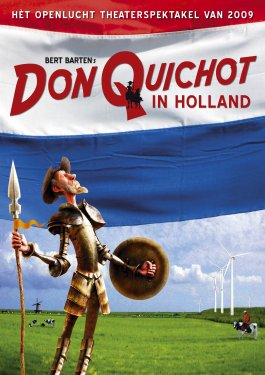 Don Quichot vecht tegen windmolens