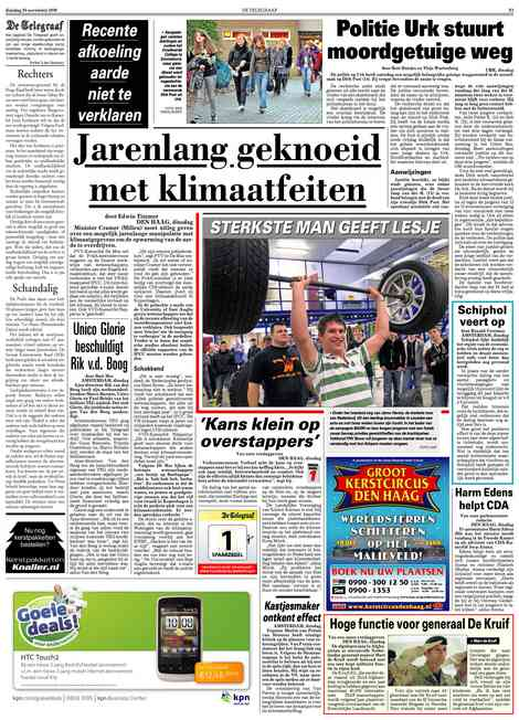 De Telegraaf over climategate