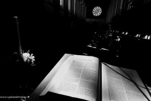 Schriftlezing in abdij de Koningshoeve, waar mijn favoriete Tripel wordt gebrouwen