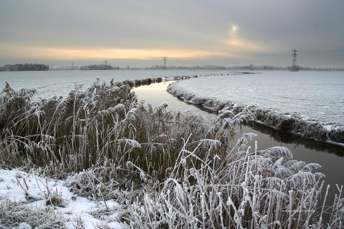 Winterstillleven in Tjongervallei. De Hel van 63 lijkt volgens voorspellingen weer mogelijk te worden