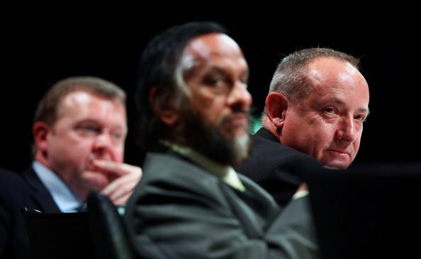 Rasmussen, Pachauri en De Boer in Kopenhagen