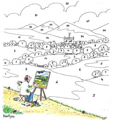 Iedereen kan schilderen