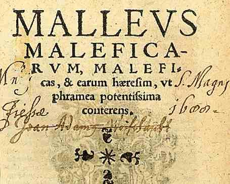 Het zevende rapport waarin alle kennis van die tijd over herkenning van bezweringen van heksen was verzameld