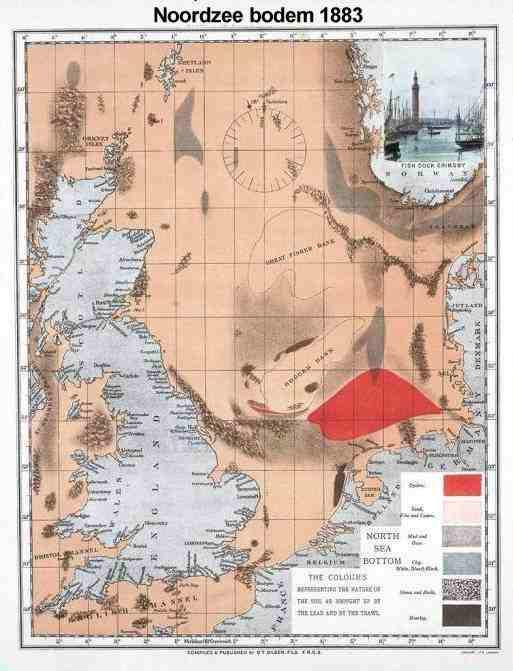 De schatkaart van Lindeboom, die een hele economische sector mag ruineren, zodat we voortaan vis uit Chili, China en intensieve vishouderij mogen importeren in plaats van onze eigen zee