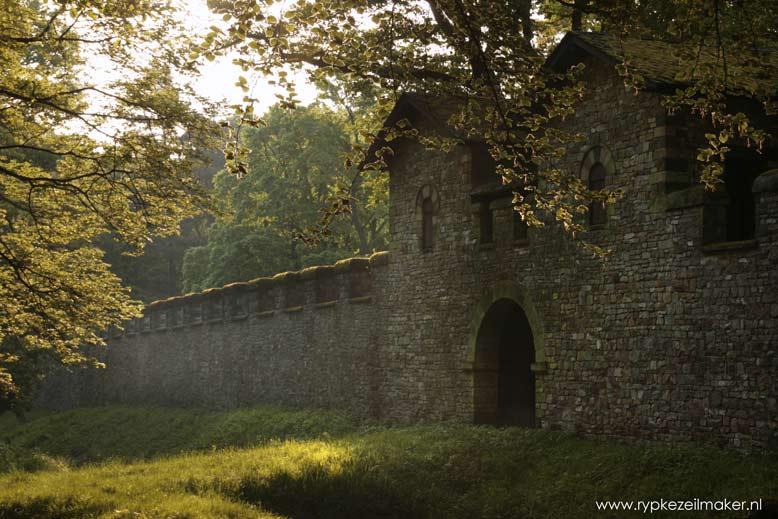 Ruine van Romeins Fort Saalburg