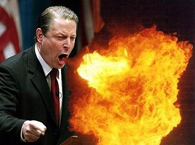 Al Gore warmt de media weer op met Climate Science Fiction: 1 fout per 2 minuten