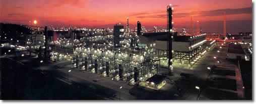 Eerste GTL fabriek van Shell in Bintulu
