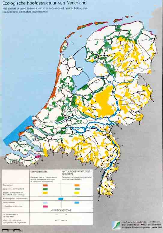kaart ecologische hoofdstructuur