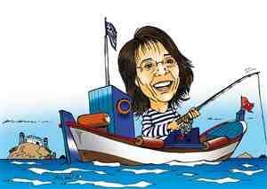 'Rode Maria', zoals de Grieken visserijhervormer Maria Damanaki kennen als communistisch leidster