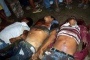 Boeren uit Aguán, in het noorden van Honduras vermoord door particuliere milities in de naam van de strijd tegen global warming.