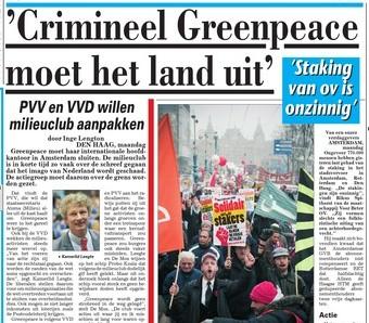 Telegraaf 21 november 2011 - Pagina 3