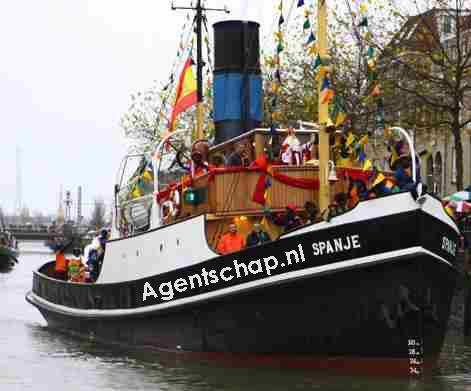 De Sint is vertrokken maar de klimaatsint en zijn pakjesboot Agentschap.nl blijven liggen. Morgen komen ECN en Gasunie voor hem zingen!