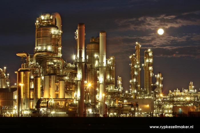 raffinaderij Maasvlakte. Bij fossiele energie is de overheid netto ontvanger, bij 'duurzaam'is de overheid netto betaler