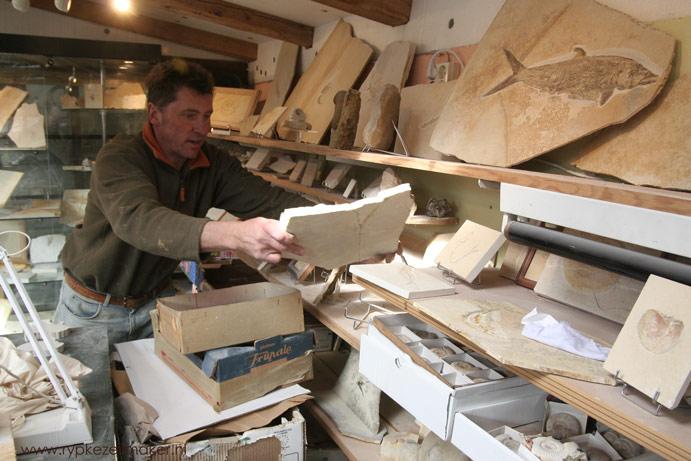 Fossielenjager Solnhofen Beieren, waar iedere paleo-verslaafde geweest moet zijn