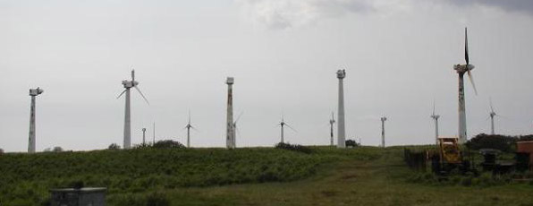 Defecte windmolens besparen méér energie dan draaiende