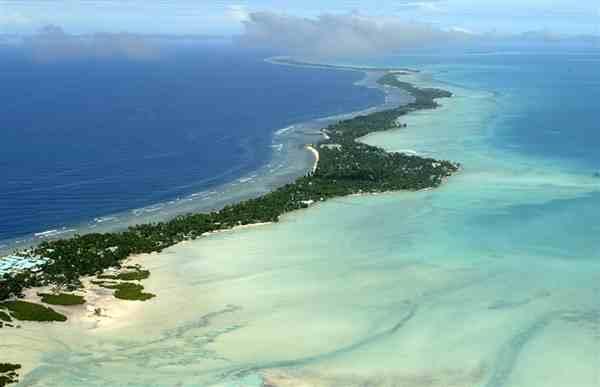 mediageniek eiland, ideaal bruikbaar bij fondsenwerving en angstcampagnes Greenpeace