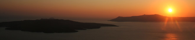 santorini sunset cr 660