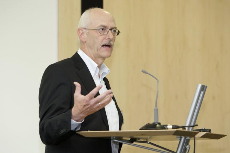 Dr. Knut Loeschkes Vortrag wurde vom Publikum am besten beurteilt