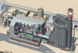 Gloednieuwe Enecogen 870 MW CCGT centrale op de Maasvlakte (59% eff.)