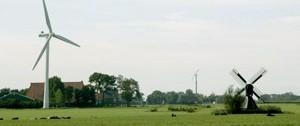 Windenergie in Friesland - foto Marijn van Rij