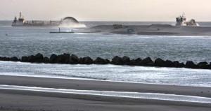 Bodemberoering bij aanleg Tweede Maasvlakte: Ton IJlstra was projectcoordinator