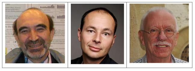 Demetris Koutsoyiannis, Rasmus Benestad en Armin Bunde