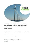 windmolens in Nederland leiden tot 90 euro lastenverzwaring per maand per gezin in 2020 met het SER Akkoord