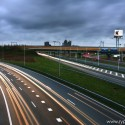 Zicht op A10 Zuid bij Amsterdam vanaf A2. Verplicht 80 rijden was pure uitlokking van snelheidsovertreding