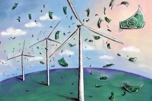 Terwijl nieuwe centrales stilstaan omdat energievraag ontbreekt, geeft Henk Kamp 4,2 miljard euro subsidie aan extra overcapaciteit windenergie