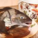 Een vis (hier wijting) villen en eten is één van de essentiele vaardigheden van ons lespakket biologie