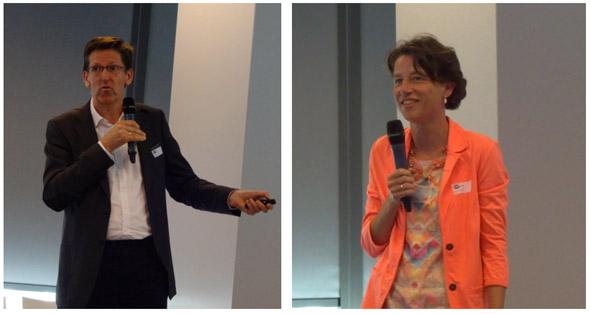 Prof. Machiel Mulder (RUG) en Annemiek Verrips (CPB)