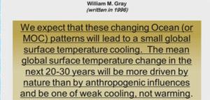 Bill Gray voorspelde de