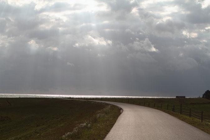 Zuiderzeedijk, straks ook een draaiende horizon