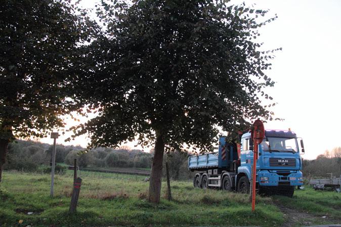 Vlaams natuurschoon, groen en blauw combineert bijzonder