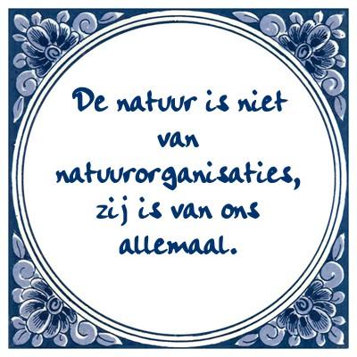 natuurorganisaties