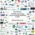 130 groene NGO's zetten al weer druk om zichzelf aan het werk te houden