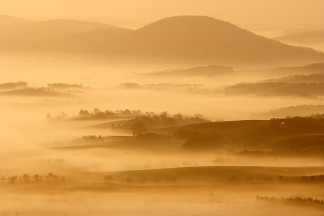 Pastoraal landschap Pennsylvania