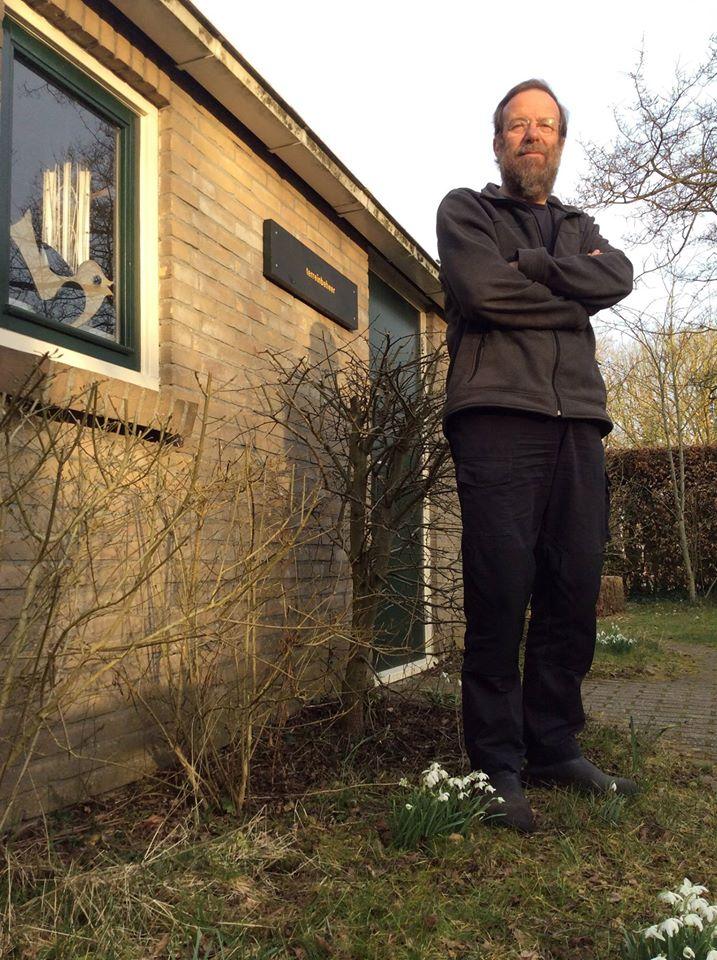 Eric Wanders, tot 2004 directeur van Vogelbescherming Nederland, en regiodirecteur Noord van Staatsbosbeheer