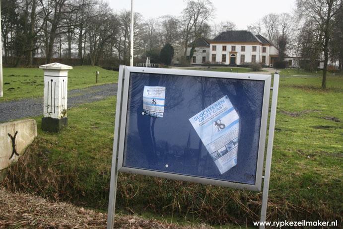 Wegens instortingsgevaar afgesloten boerderij Slochteren