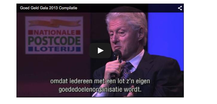 Poelmann kocht Clinton voor 22 miljoen euro