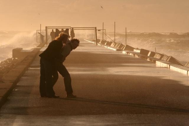 storm en getij dicteren de ondiepere delen van de Noordzee tot 20 mtr beneden NAP