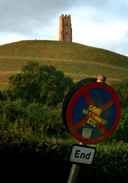 Glastonbury: Good will conquer Evil