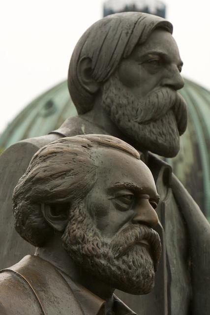 Marx en Engels, adviseurs Geleide Planecologische commissie Nieuw Agrarisch Natuurbeheer