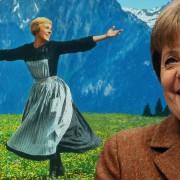 Angela Merkel achtergrond Sound of music