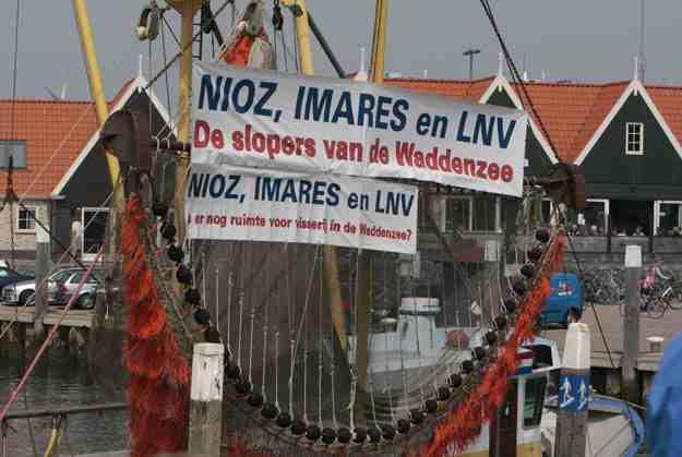 Ook vissers op Texel maken al reclame voor Imares, razend populair daar..