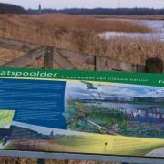 Plasdras van Nieuwe Natuur dat Friese Gea kreeg van DLG bij Lendevallei aan A32