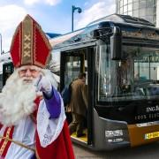 Sinterklaas achtergrond Ebuscobus