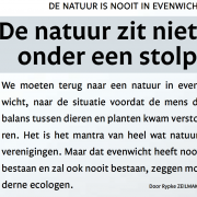 Als je te vroeg groene dogmas doodsteekt raak je besmet als 'milieuscepticus'.