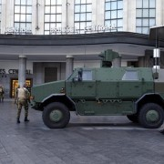 Brussel pantserwagen