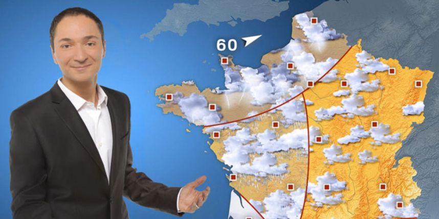 Philippe Verdier achtergrond weerkaart